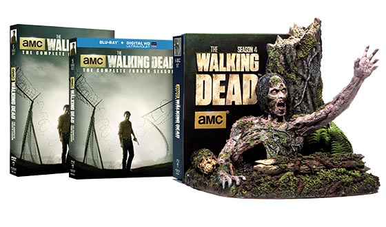 <em>The Walking Dead</em> Season 4 DVD, Blu-Ray and Limited Edition Blu-Ray Now Available