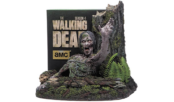 Order <em>The Walking Dead</em>: The Complete Fourth Season Limited Edition Blu Ray Now