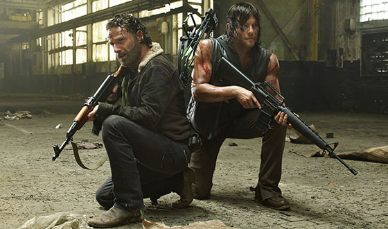 Andrew Lincoln, Norman Reedus Preview Season 5; Steven Yeun On Glenn
