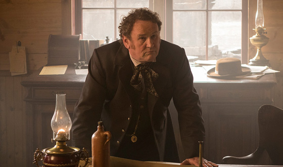 Video – On Set With <em>Hell on Wheels'</em> Colm Meaney (Thomas Durant)