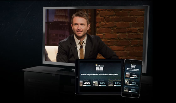 Play Dead With Chris Hardwick and Guests During the <em>Talking Dead</em> Premiere This Sunday 10/9c