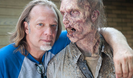 AMC FearFest &#8211; Greg Nicotero Shares Tricks for <em>The Walking Dead</em> Halloween Costumes
