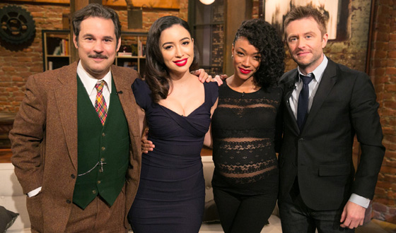 Video – <em>Talking Dead</em> Episode 507 Highlights and Bonus Scene Featuring Christian Serratos (Rosita) and Sonequa Martin-Green (Sasha)