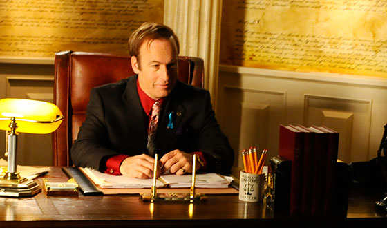 <em>THR</em> Spotlights <em>Saul</em> Set Video; Bob Odenkirk Tells <em>NYT</em> What Saul Reads
