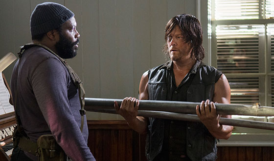 Norman Reedus Previews Midseason Finale to <em>THR</em>; Chad Coleman Takes <em>EW</em> Pop Culture Test