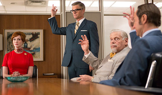 <em>Mad Men</em> Honored With WGA Nods, Named to AFI Top TV List