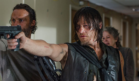 Norman Reedus, Emily Kinney on Midseason Finale; <em>TheWrap</em> Celebrates Morgan&#8217;s Return