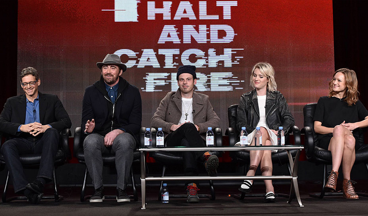 The Cast and Crew of <em>Halt and Catch Fire</em> Tease Season 2 at the 2015 TCA Winter Press Tour