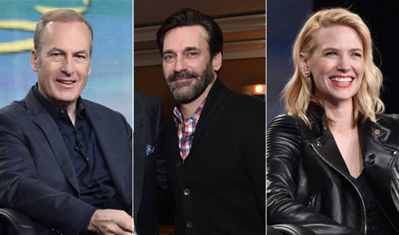 Photos – The Stars of <em>Better Call Saul</em>, <em>Halt and Catch Fire</em> and <em>Mad Men</em> at TCA 2015