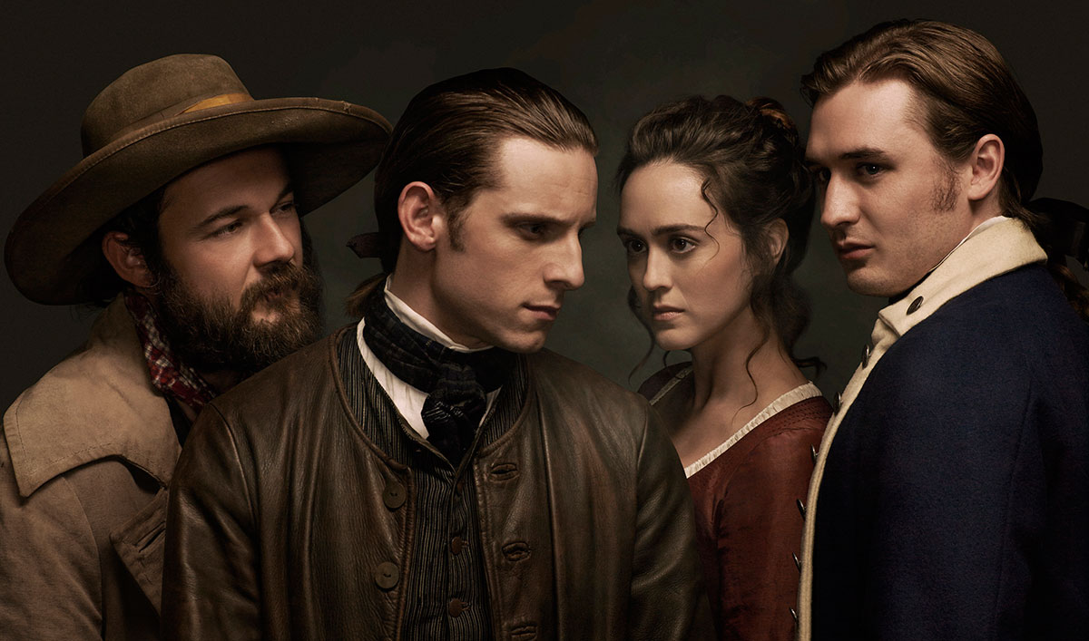 <em>InStyle</em> Interviews Heather Lind; Ian Kahn on Playing George Washington