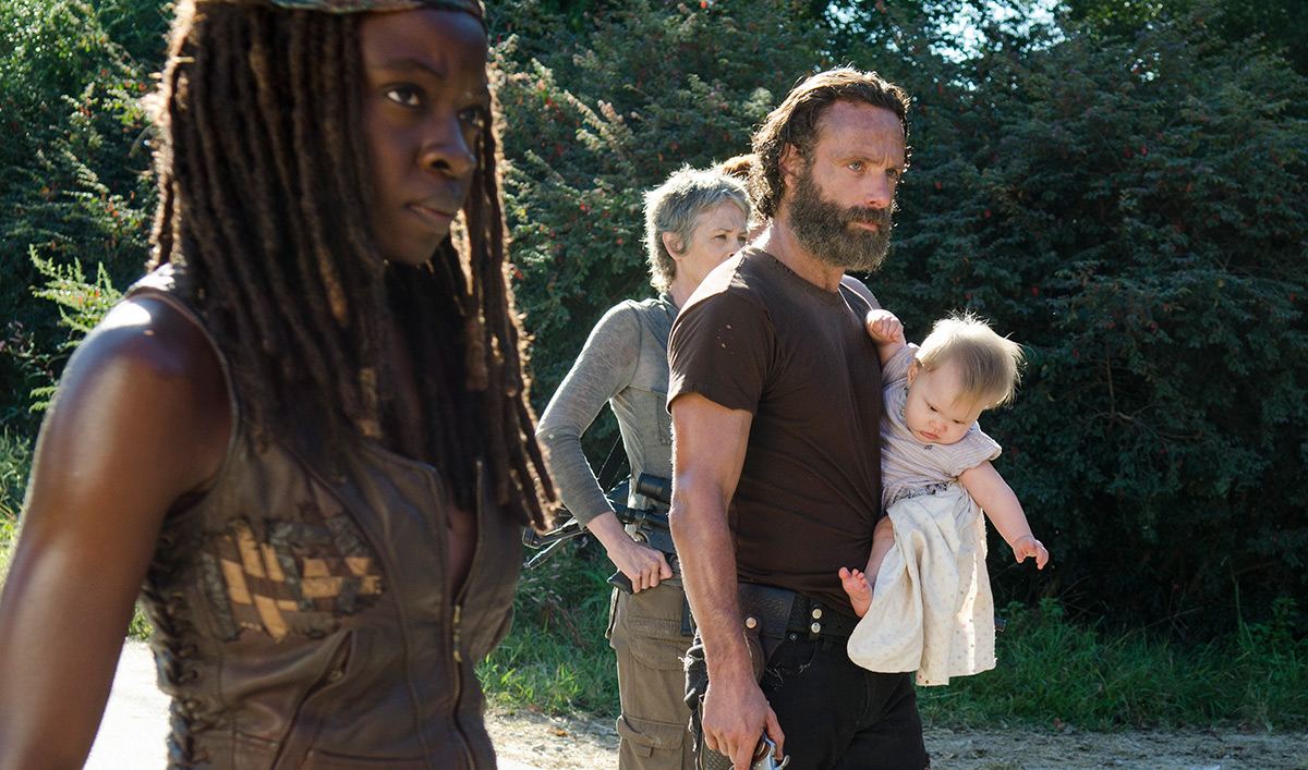 Andrew Lincoln, Danai Gurira Discuss Alexandria; <em>Flaunt</em> Features Norman Reedus