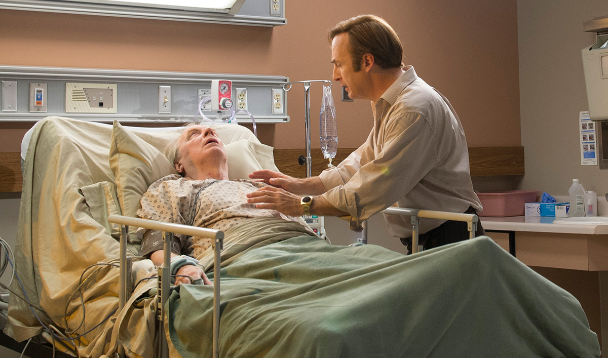 Peter Gould Compares <em>Saul</em> and <em>Breaking Bad</em>; Michael McKean Talks Chuck's Ailment