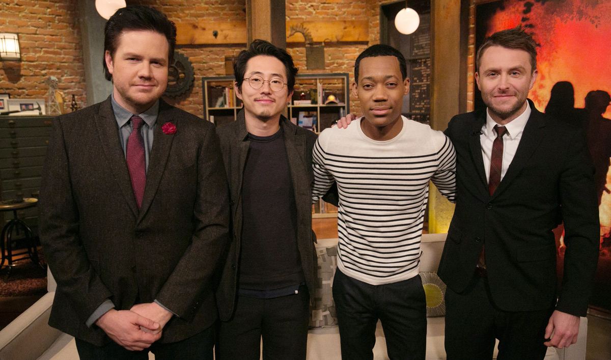 Video – <em>Talking Dead</em> Episode 514 Highlights and Bonus Scene Featuring Josh McDermitt, Steven Yeun and Tyler James Williams