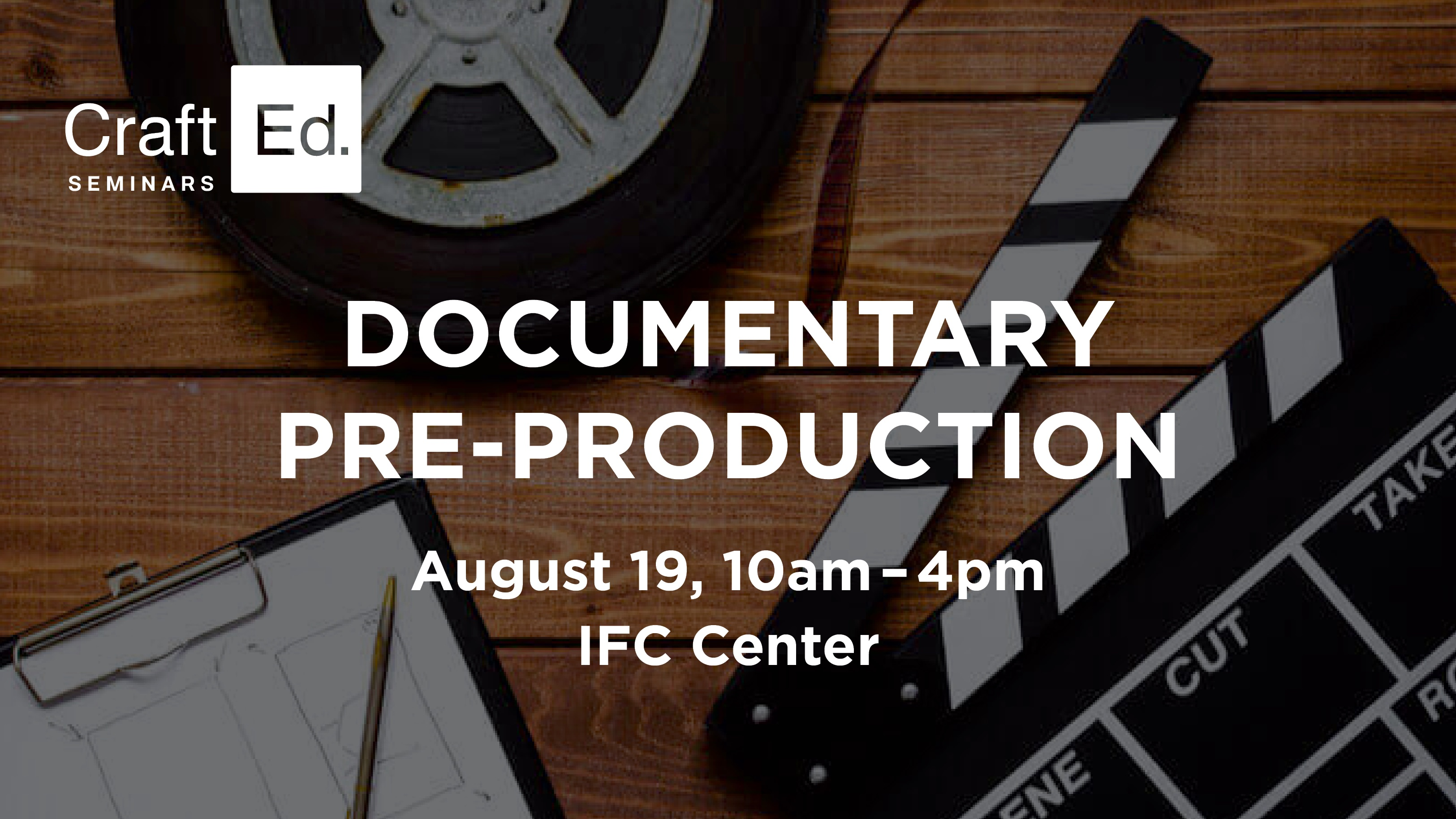 Documentary Pre-Production | Crafted Seminars