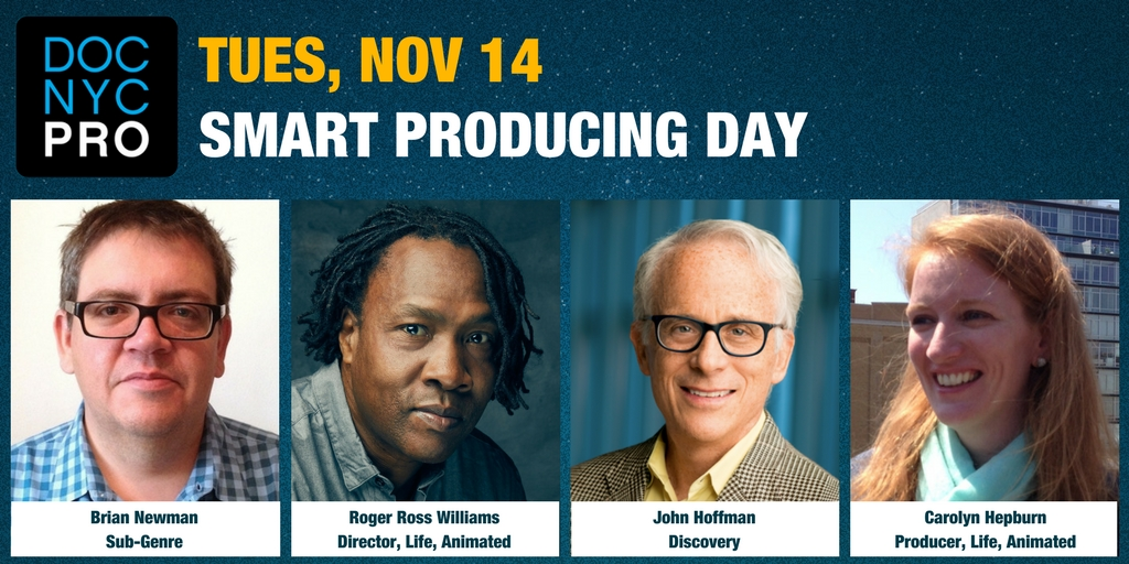 DOC NYC PRO: SMART PRODUCING DAY