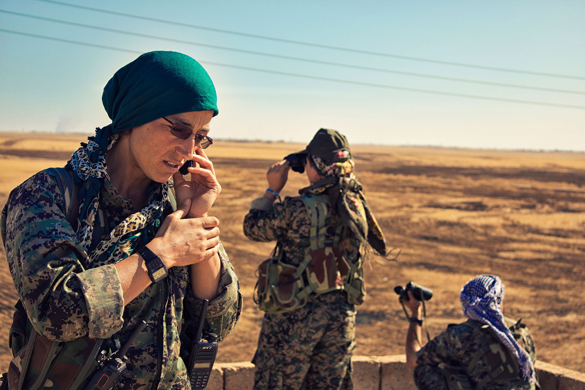 COMMANDER ARIAN: A STORY OF WOMEN, WAR & FREEDOM
