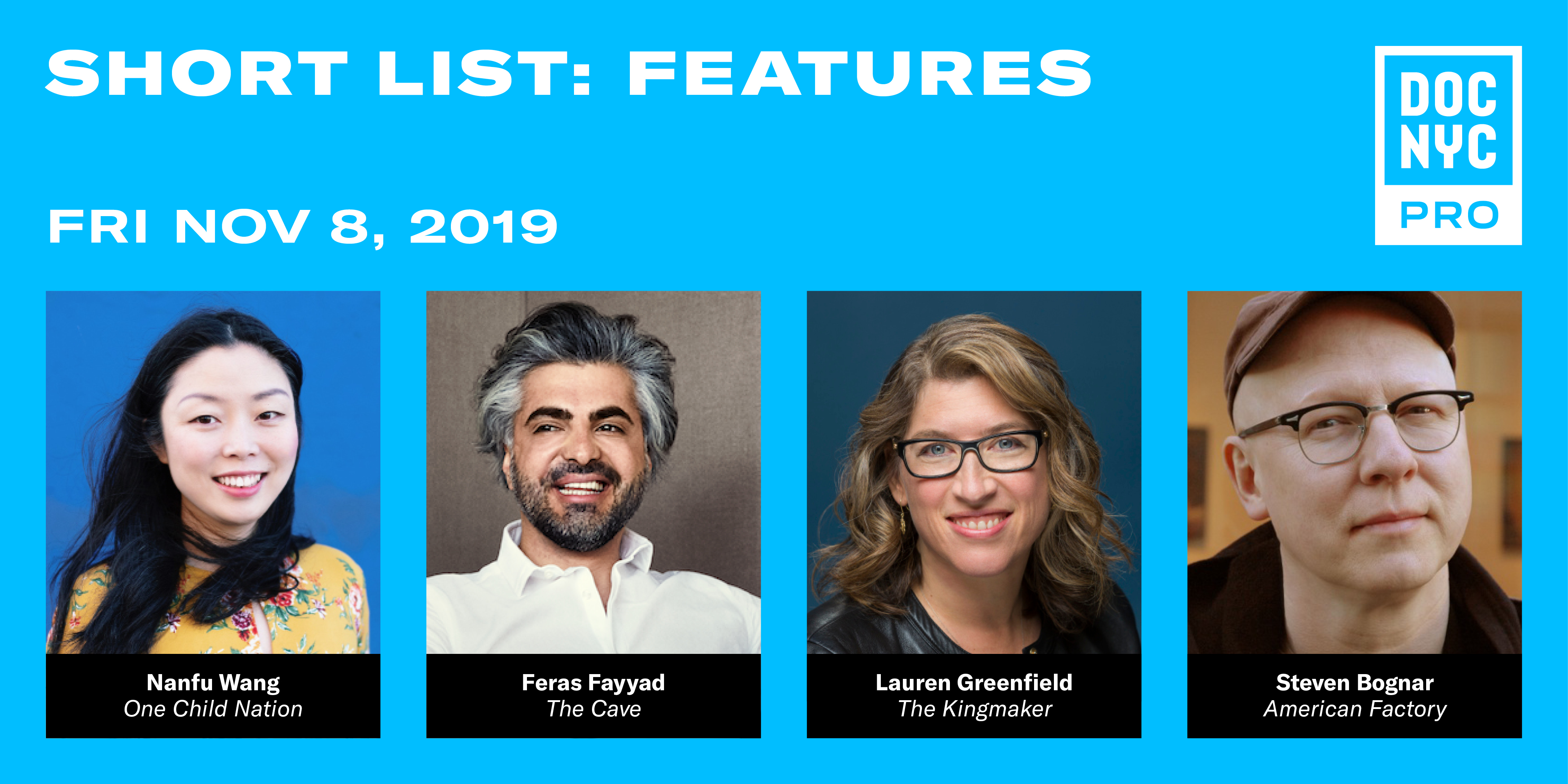 DOC NYC PRO: SHORT LIST: FEATURES
