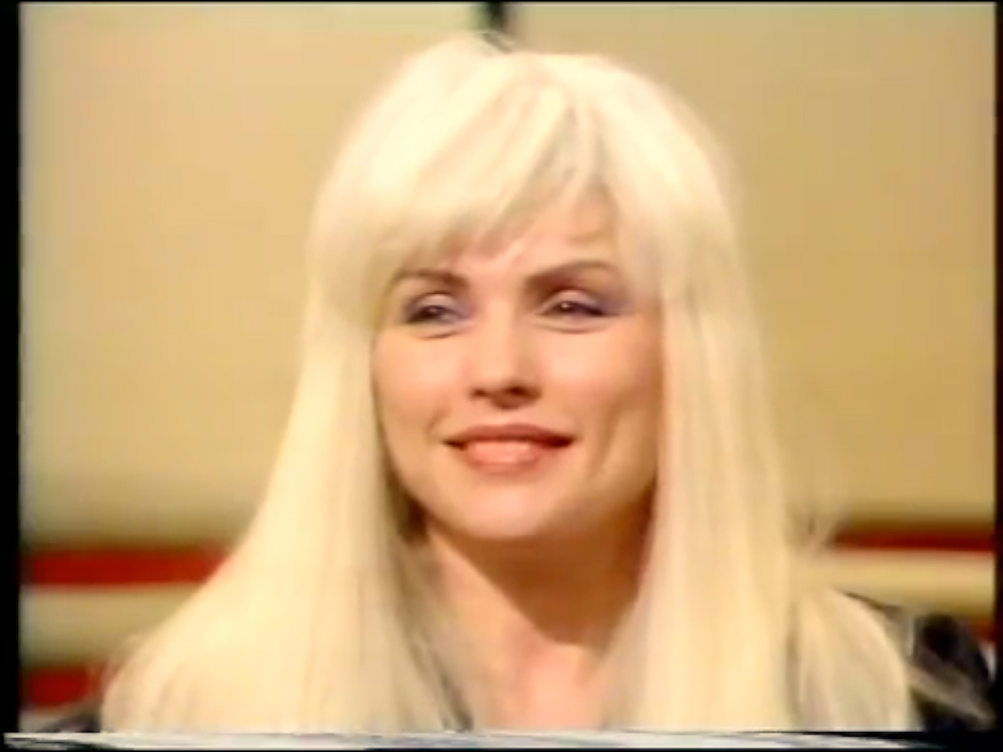 DEBORAH HARRY DOES NOT LIKE INTERVIEWS