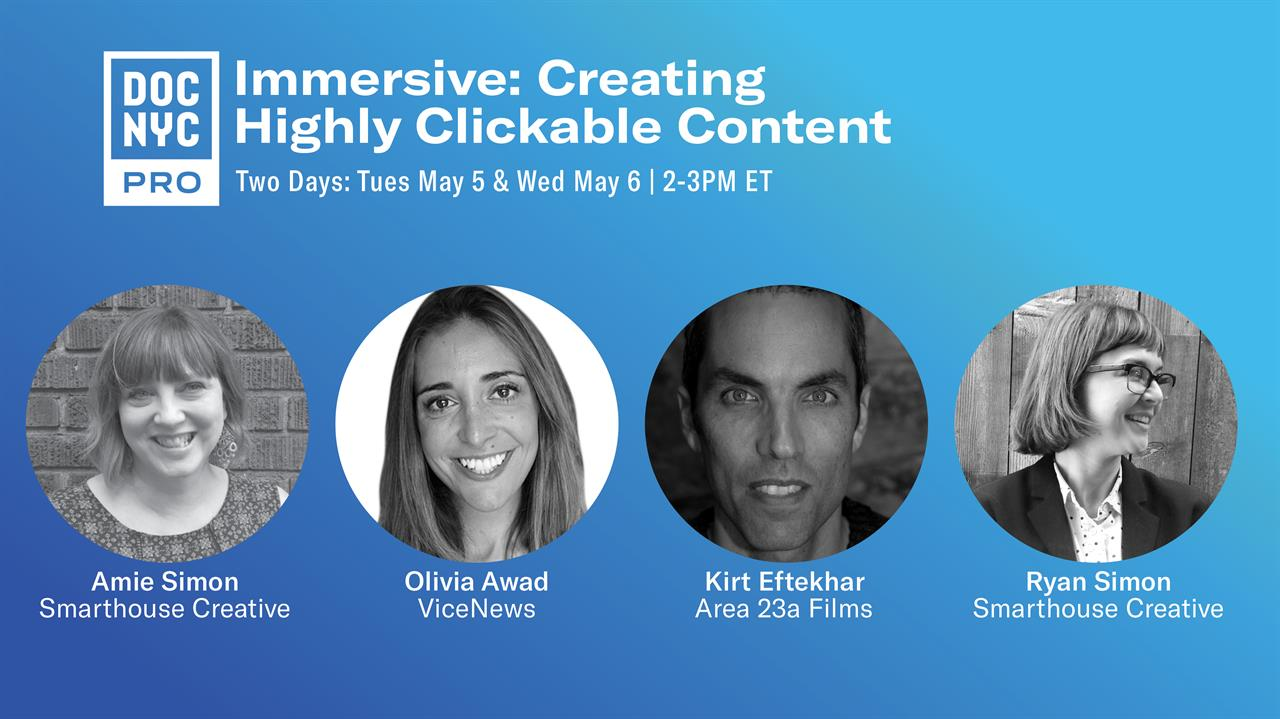 DOC NYC Immersive: Creating Highly Clickable Content