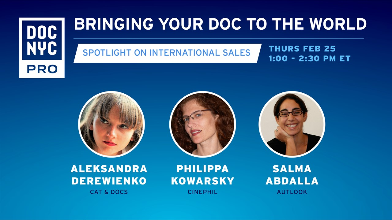 Bringing Your Doc to the World: International Sales
