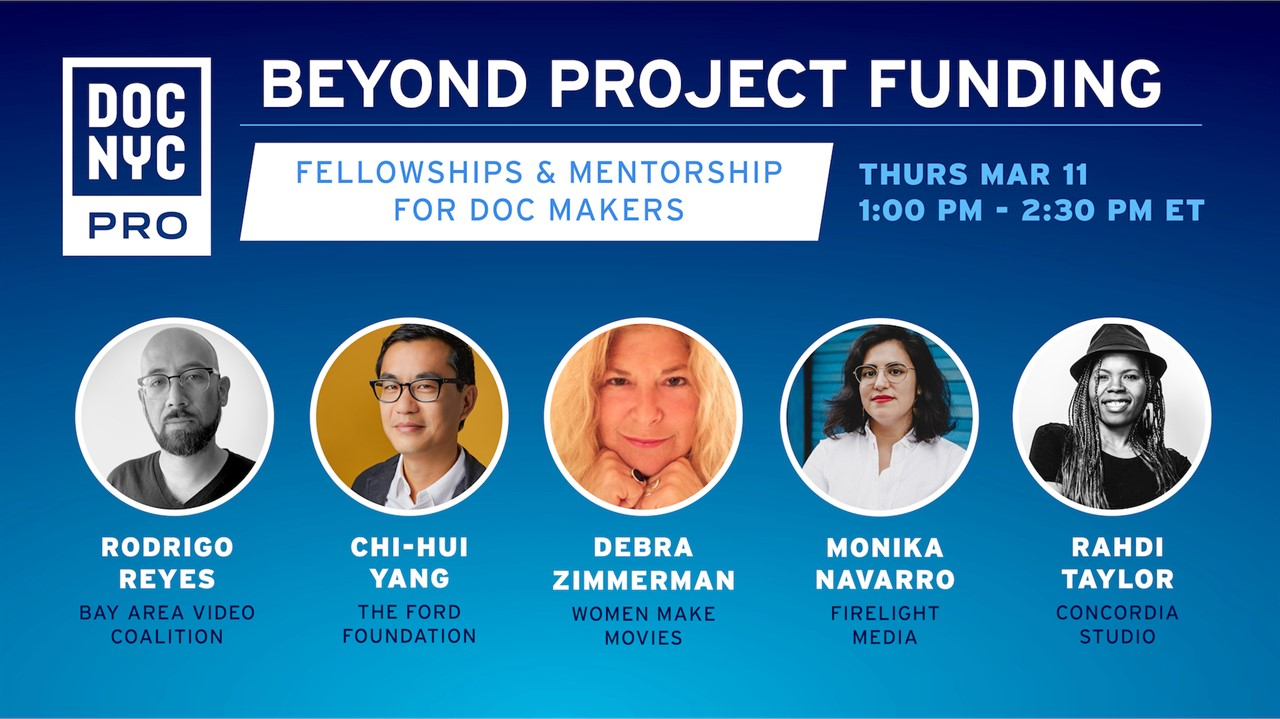Beyond Project Funding: Fellowships & Mentorships