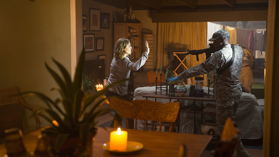 Madison Clark (Kim Dickens) en Episodio 4 Photo by Justina Mintz/AMC