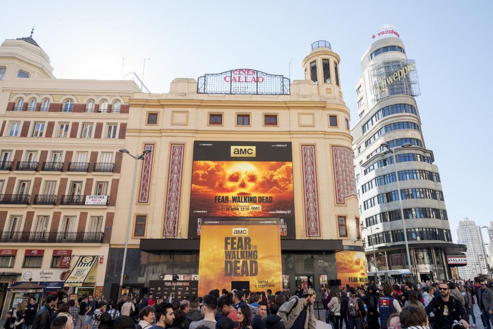 Premiere T2 en Madrid