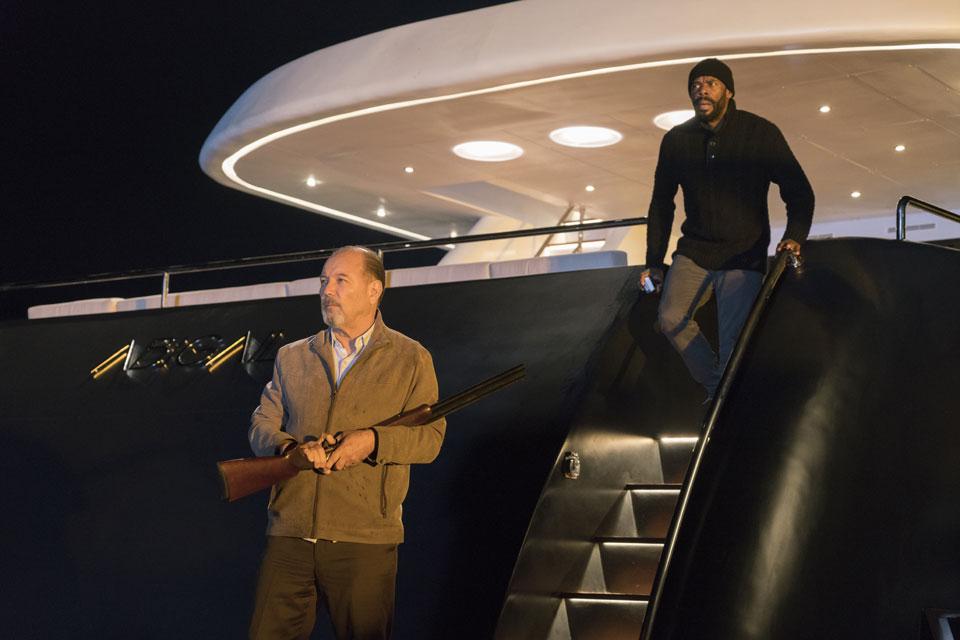 Daniel (Ruben Blades) and Victor Strand (Colman Domingo) in Episode 1 Photo by Richard Foreman/AMC