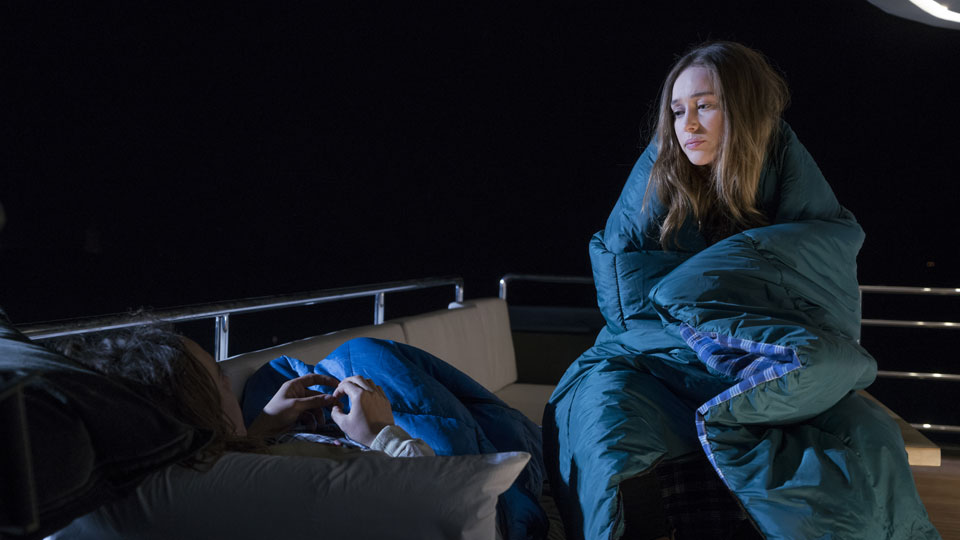 Nick Clark (Frank Dillane) y Alicia Clark (Alycia Debnam-Carey) en Episodio 2 Photo by Richard Foreman/AMC