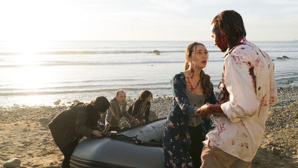 Alicia Clark (Alycia Debnam-Carey)  y Nick Clark (Frank Dillane) en Episodio 3 Photo by Richard Foreman/AMC