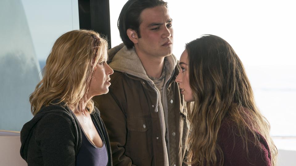 Madison Clark (Kim Dickens) y Alicia Clark (Alycia Debnam-Carey) en Episodio 4 Photo by Richard Foreman/AMC