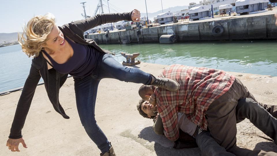 Madison Clark (Kim Dickens)  en Episodio 5 Photo by Richard Foreman/AMC