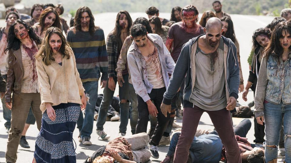 Infectados en el Episodio 8 Foto de Richard Foreman/AMC