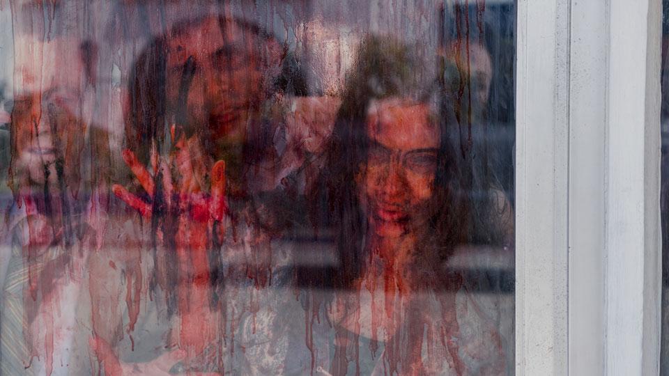 Infectados en el Episodio 9 Photo by Richard Foreman/AMC