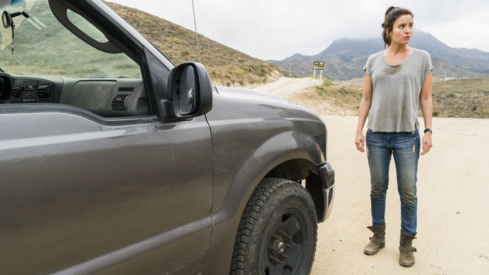 Ofelia Salazar (Mercedes Mason) en Episodio 12 Photo by Richard Foreman/AMC