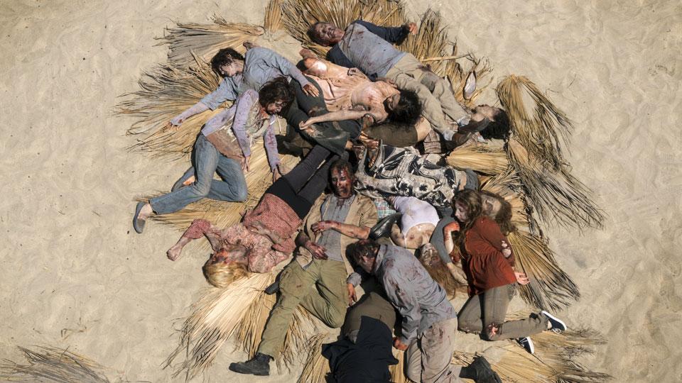 Infectados en episodio 11 Photo by Richard Foreman/AMC
