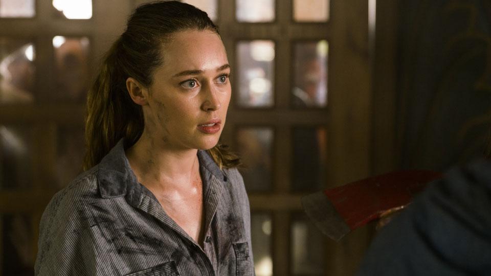 Alicia Clark (Alycia Debnam-Carey) en Episodio 10 Photo by Richard Foreman/AMC