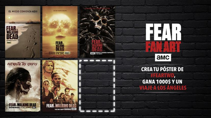 AMC España | Fear The Walking Dead | Crea tu póster de la ...