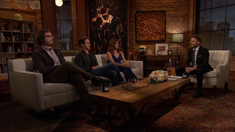 Jonah Ray, Kelly Blatz, Karen Bethzabe e Chris Hardwick