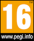 This game's European PEGI age rating is for players sixteen years and above. Click here to visit the PEGI home page.