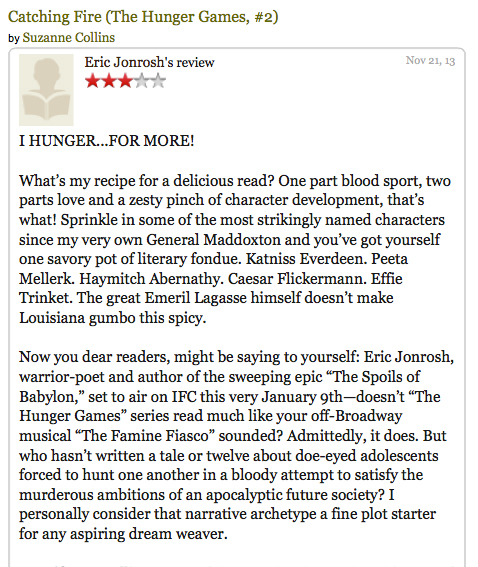 hunger games book review the hunger games book review level  book review the hunger games by suzanne collins