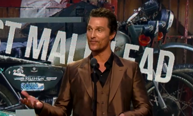 "Matthew McConaughey to World: ""Just Keep Livin'"" – IFC"