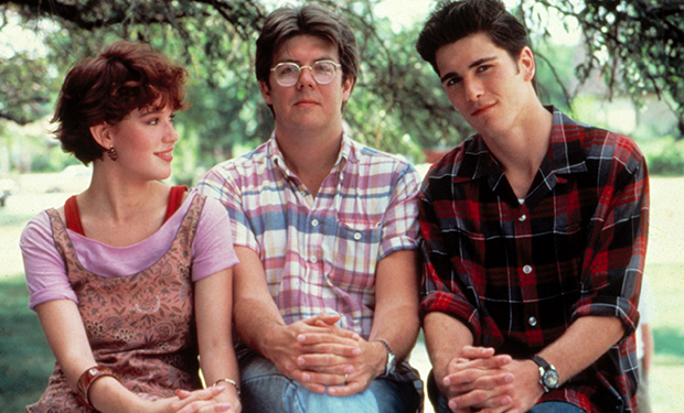 SIXTEEN CANDLES, Molly Ringwald, Director John Hughes, Mark Schoeffling, 1984. (c)Universal Pictures