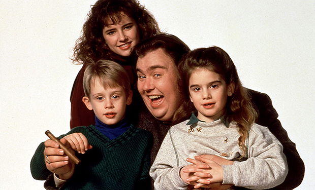 UNCLE BUCK, Macaulay Culkin, Jean Kelly, John Candy, Gaby Hoffman, 1989