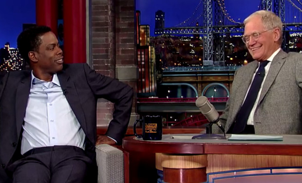 Chris Rock  David Letterman
