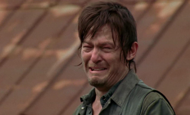 Daryl Crying