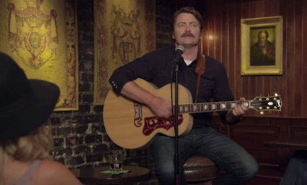 Nick Offerman Whisky Song