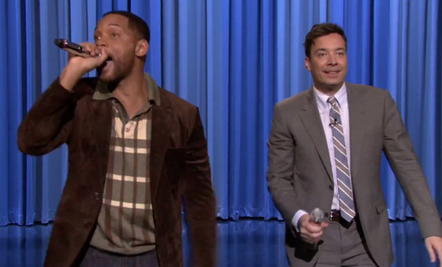 Jimmy Fallon Will Smith Beatbox