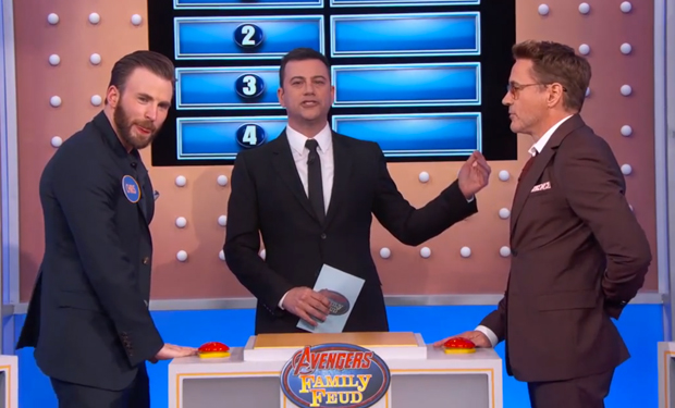Hulk Answer Good! Watch the Avengers Play Family Feud With Jimmy