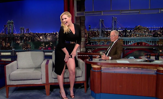 image Drew barrymore flashes david letterman on his birthday